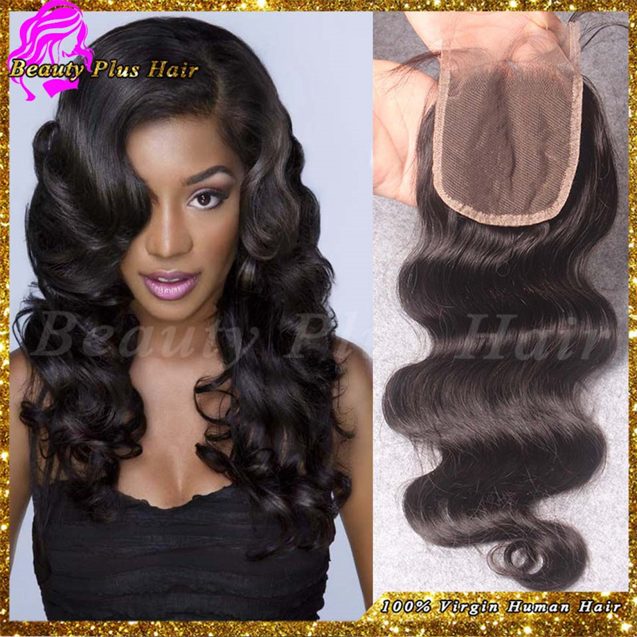6a Cheap Malaysian Hair Closures Freestyle Lace Closure Bleached
