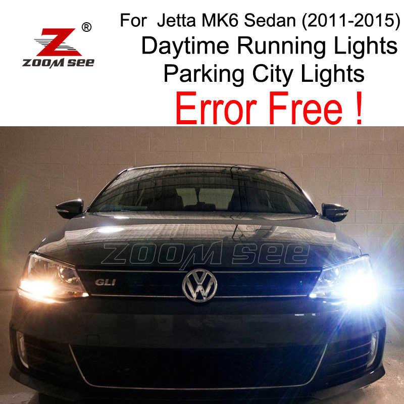 4pcs Led Lamp Daytime Running Lights Parking City Bulb Kit