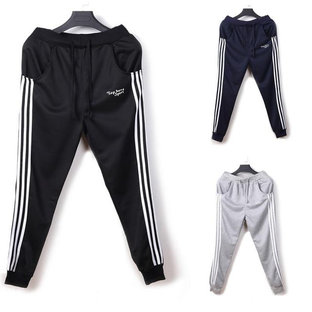 Mens jogger sweatpants for mens casual sweats polo tracksuit man Harem pants men Male Boy pantalon homme long black New clothing