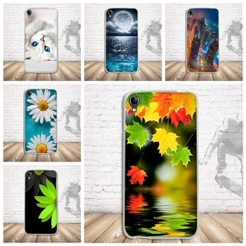 Luxury Printed Soft TPU Case For Alcatel One Touch Idol 3 5.5 inch OT-6045 6045Y 6045K Case Cover Phone Cover Cases Fundas Coque image