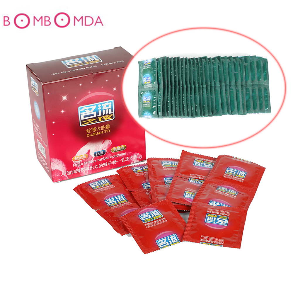 Ultra Thin Condom Natural Latex Strawberry Lubricating Condoms Adult Safe Contraception Sex Products For Men Male Couples