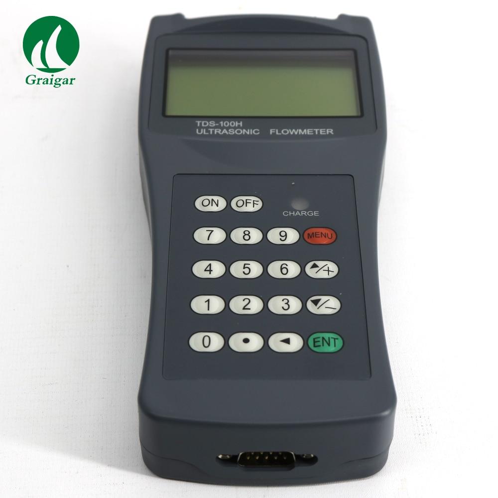 Ultrasonic flowmeter with M2 sensor TDS-100H water flow meterUltrasonic flowmeter with M2 sensor TDS-100H water flow meter