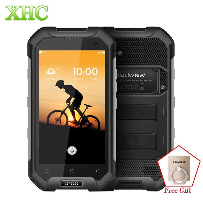 LTE 4g Blackview BV6000S IP68 4.7 pouces Smartphones RAM 2 gb ROM 16 gb Android 6.0 MTK6735 Quad Core NFC GPS Double SIM Mobile Téléphones