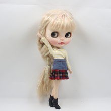 Neo Blythe Doll Black High Heel Boots for Regular Body