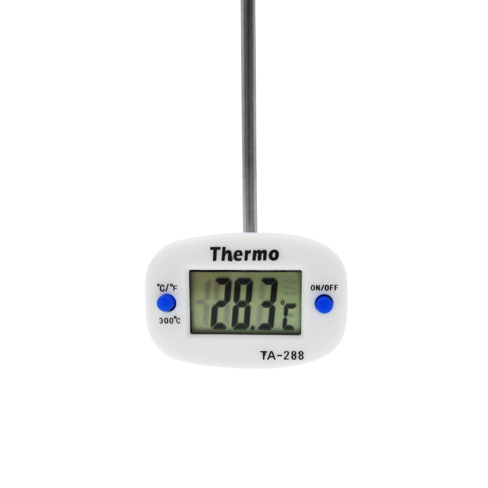 New 180 Rotation Digital Oven Thermometer Food Meat Probe BBQ Cooking Chocolate Water Oil Kitchen Thermometer TA288 TA-288 thermometer instruments kitchen digital cooking food probe electronic bbq household temperature detector tool