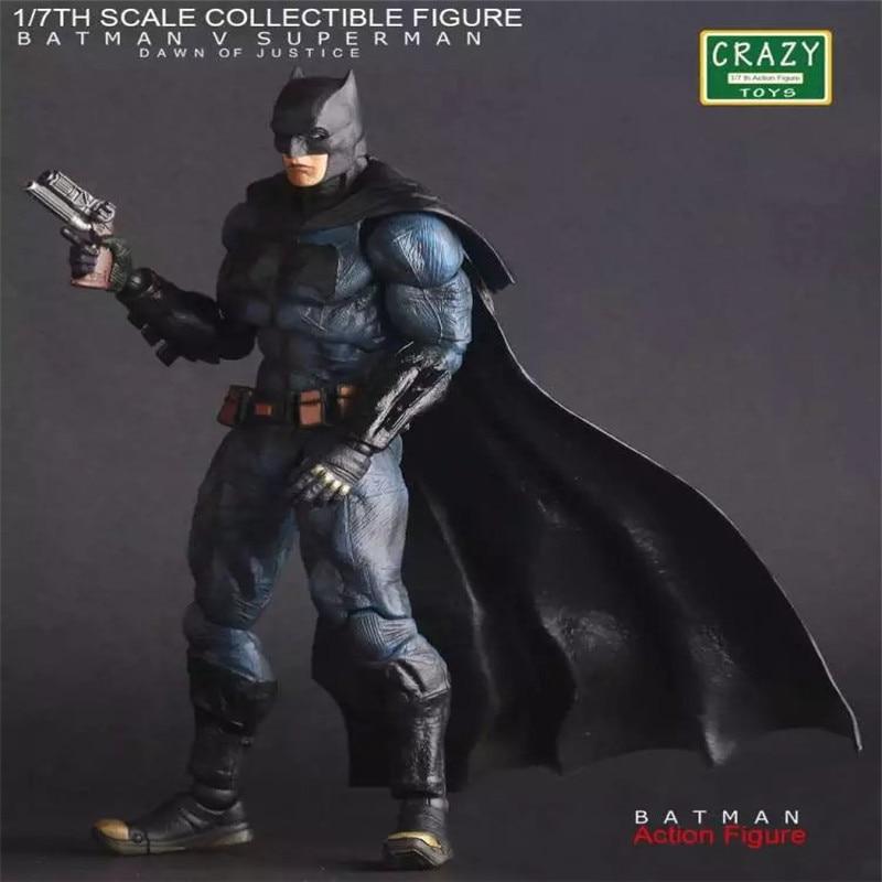 ФОТО Batman Action Figures Play Arts Kai Dawn of Justice PVC Toys Anime Movie Model Heavily-armored Bat Man Playarts Kai