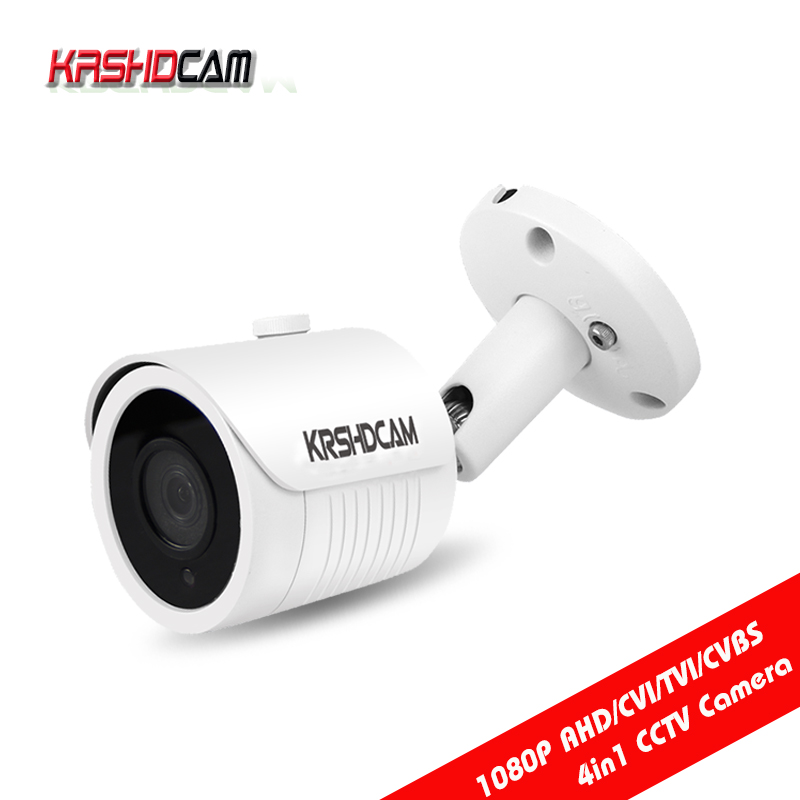 Full HD 1080P 2.0MP AHD-H Camera Bullet Security BNC CVI/TVI/CVBS 4 IN 1 3000TVL Outdoor Video Surveillance cameras de seguranca hd ahd cvi tvi cvbs bullet camera with alarm speaker waterproof ip67 hd 1080p 4 in 1 security camera outdoor night vision ir 20m