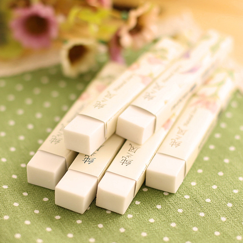AH26 Is Interested In Stationery Korean Pure Wind Strip Students Special Rubber Color Eraser 1267