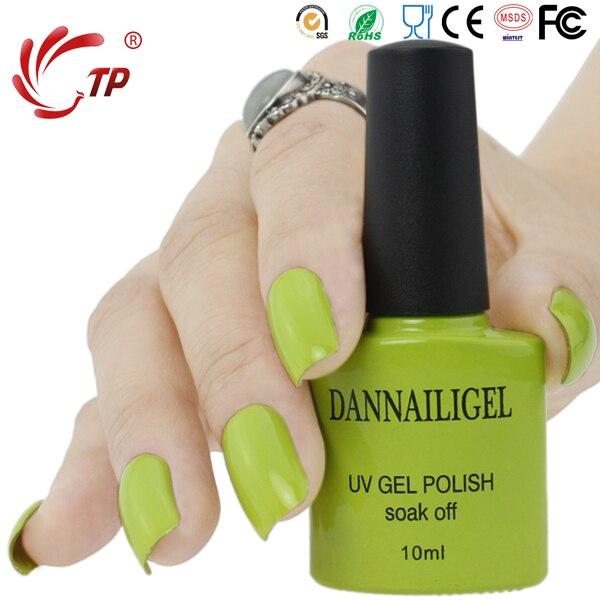 ୧ʕ ʔ୨Dannail gel #4 dannail color verde 10 ml larga duración soak ...