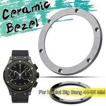 Silver Ceramic Bezel Insert For 40 45mm Submariner Mens