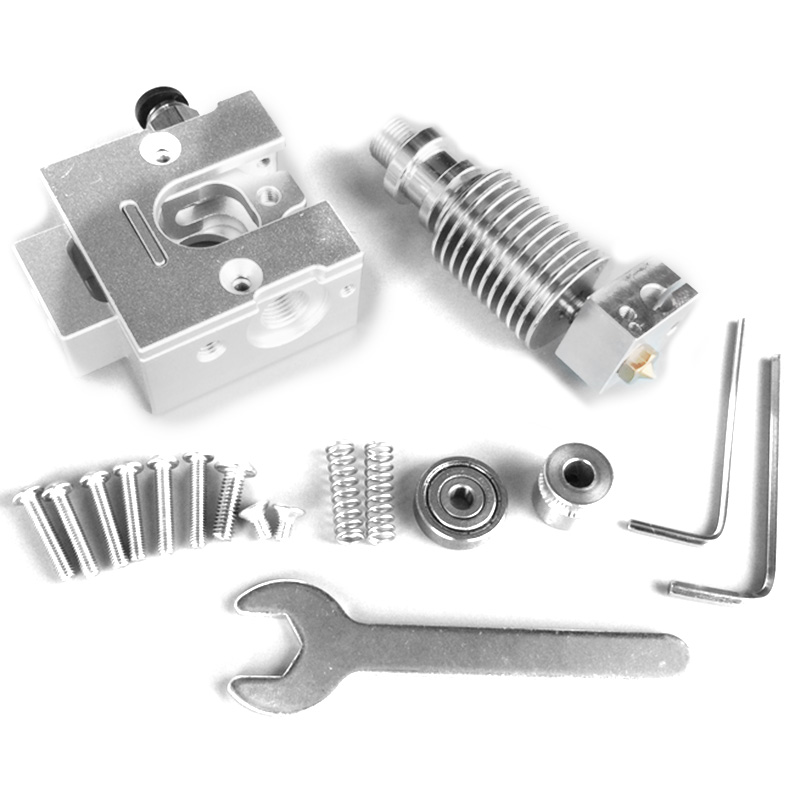 Reprap Metal Bulldog + V6 J-Head Extruder For 1.75Mm Filament 3D Printer Part