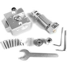 цена на Reprap Metal Bulldog + V6 J-Head Extruder For 1.75Mm Filament 3D Printer Part