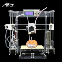 Anet Upgraded A8 Transparent 3D Printer Reprap Prusa I3 DIY 3D Printer Kit FDM Tech Aluminum