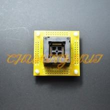Тест QFP80 гнездо TQFP80 LQFP80 микросхемы с печатной платы размер 0.5 мм=12х12мм 14x14mm