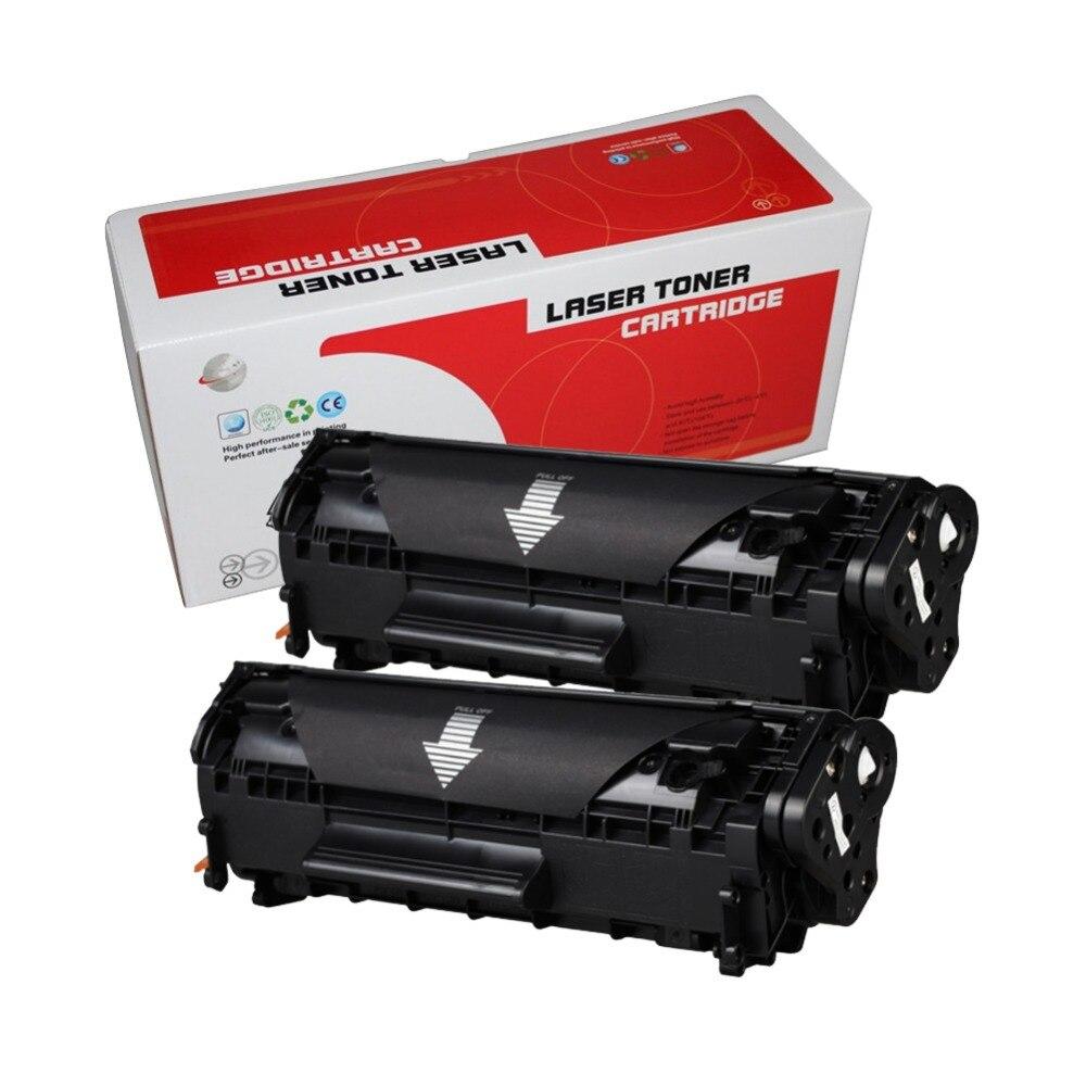 2PCS compatible toner cartridge  2612a 12a 2612 q2612 Q2612A for hp laserjet 1010 1020 1015 1012 3015 3020 3030 3050 printer2PCS compatible toner cartridge  2612a 12a 2612 q2612 Q2612A for hp laserjet 1010 1020 1015 1012 3015 3020 3030 3050 printer