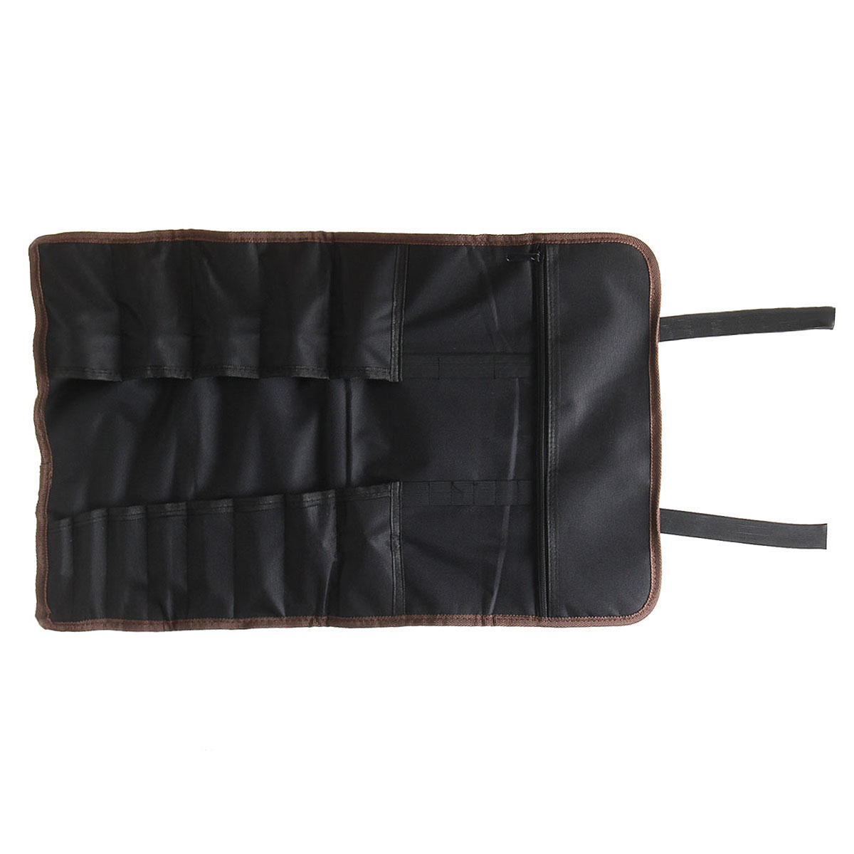 Us 9 18 42 Off 14 Pocket Chef Knife Bag Roll Carry Case Kitchen Portable Storage Black In Blocks Bags From Home Garden On