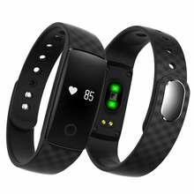 Гестия Bluetooth Smart Браслет S08 Smart Band Мониторы браслет Фитнес трекер для андроид iOS PK mi Группа 2 Черный Белый красный