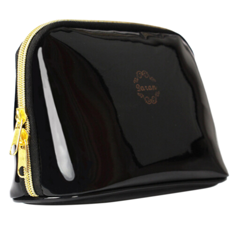 Ladies leather makeup bags