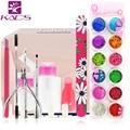 36w LED Lamp French Manicure Kit Nail Art Tools Sets Kits Nail Gel Nails Tools And LED UV Lamp for  UV Gel Nail Art Tools