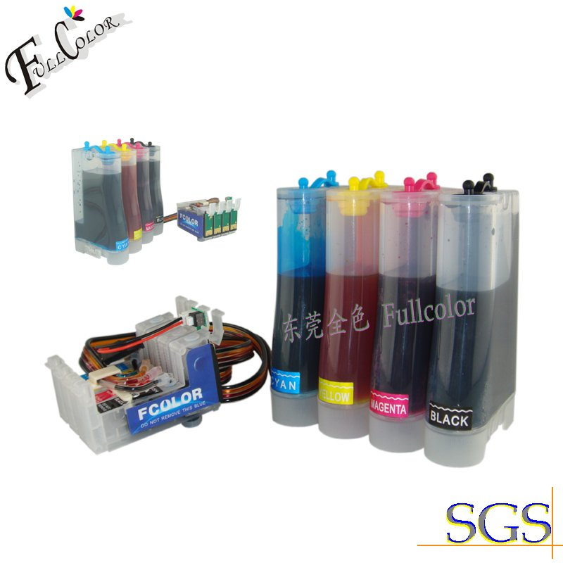 Free Shipping!! Hot Sell Compatible CISS Ink System With Dye Ink & Arc Chip For T22,TX120