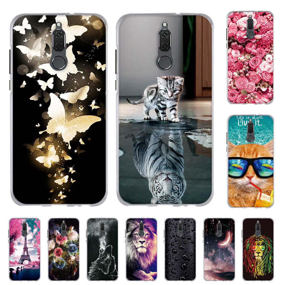 Back Cover For Huawei Mate 10 Lite Maimang 6 Honor 9i G10 TPU Phone Case For Huawei nova 2i Mate 10 Lite Print Silicone Shells