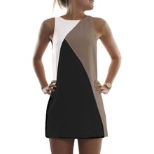 Women Summer Casual T-shirt Sleeveless Evening Party Beach Dress Short Mini Tops Vestido ht