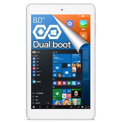 Cube iwork8 Ultimate Tablet PC WINDOWS 10 + ANDROID 5.1 2GB RAM 32GB ROM 8.0 inch IPS Screen Intel Atom x5-Z8300 64bit Quad Core