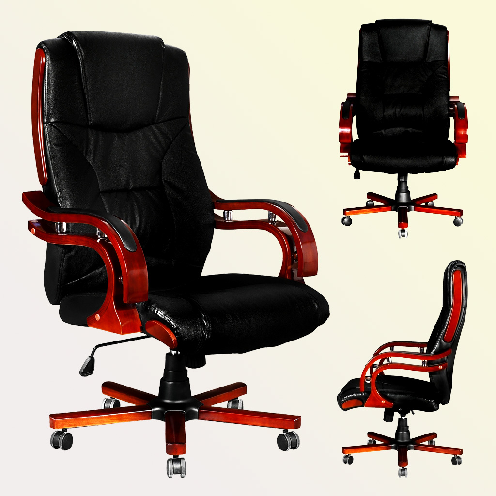 High Quality Home Office Furniture: Ikayaa High Quality Office Chair Executive Armchair Luxury