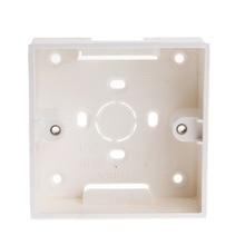 86X86 ПВХ распределительная коробка настенное крепление кассеты для переключателя гнездо основания JUL10-A