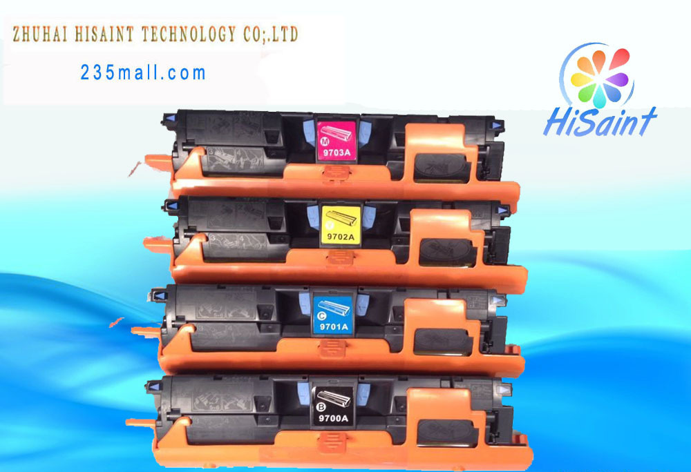 ФОТО 4*HOT Compatible for HP 9700 toner Continuous Systems compatible cartridge 9700a 9701a 9702a 9703a