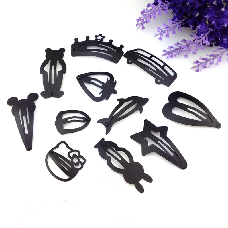 8 Pieces Children Hair Clip Headwear Cartoon headband Korea Girl Iron head band Women Child Hairpin Elastic accessories haar pin halloween party zombie skull skeleton hand bone claw hairpin punk hair clip for women girl hair accessories headwear 1 pcs