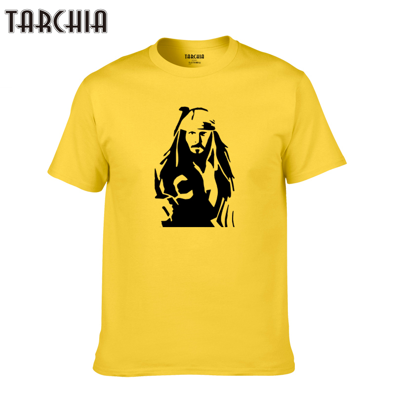 TARCHIA 2019 new Pirates of the Caribbean t-shirt cotton tops tee funny men short sleeve boy casual homme tshirt t plus jack