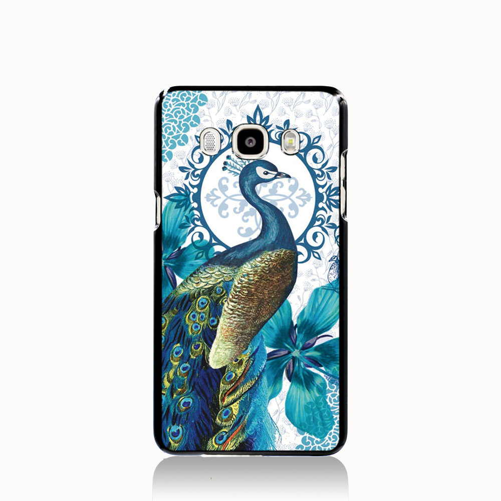 Pu leather case for samsung galaxy a7 2016 a710 peacock feather - 14839 Peacock Print Cell Phone Case Cover For Samsung Galaxy J1 Mini J2 J3 J7 On5 On7 J120f 2016