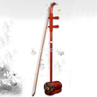 Chinese Erhu Traditional Musical Instrument Two Strings Rosewood Urheen Urhien Urhheen Er Hu With Bow and Bag For Beginner Lover
