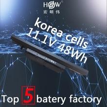 Genuine original 11.1V 48wh laptop battery for Clevo WA50BAT-6 3ICR18/65-2 6-87-WA5RS-424 bateria akku new genuine original battery for clevo series akku batterie w310bat 4 6 87 w310s 42f1