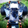 1/5 Baja 5B HPI ROVAN KM Buggy Decoration Deco Windows Windshield Wind Shield Set Baja Window