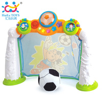 2 In 1 Football Game Toy Kids Toys Gifts Soccer Scoring Goal Game With Music Light