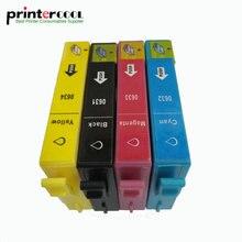1Set T0631 - T0634 Compatible Ink Cartridges For Epson Stylus C67 C87 CX4100 CX4700 CX3700 C87PE t0631 orignal new printhead print head for epson cx3500 cx4700 cx5900 cx8300 cx9300 cx4100 cx4200 cx4600 cx4800 cx4850 cx7000 cx5800