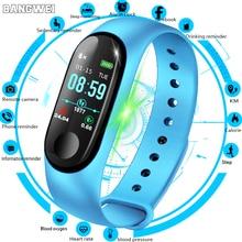 купить LIGE 2019 New Smart bracelet Heart Rate Blood Pressure Monitor Smart Watch Women Men Fitness Tracker sport smart wristband+Box онлайн