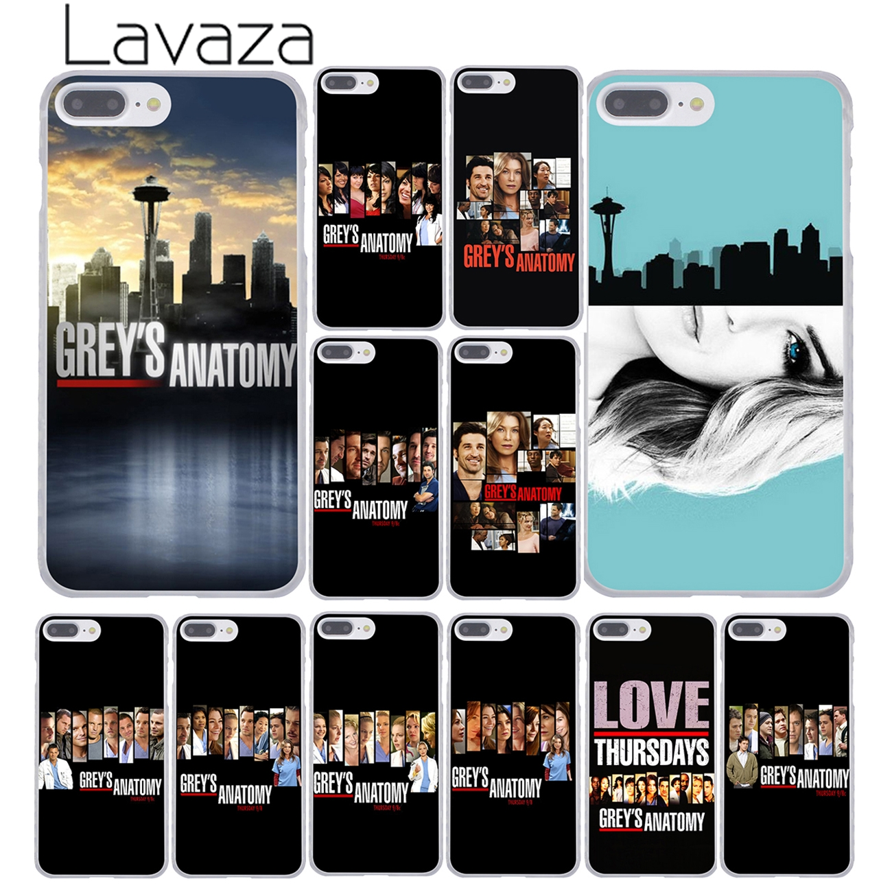 Lavaza <font><b>Grey</b></font> is <font><b>Greys</b></font> <font><b>Grey's</b></font> <font><b>Anatomy</b></font> Season poster 9 Phone <font><b>Case</b></font> for iPhone XR XS X 11 Pro Max 10 7 8 6 6S 5 5S SE 4S 4 Cover image