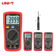 Handheld UNI-T UT39A Multimeter Amp Ohm Volt Meter Digital LCD Count 1999 Manual Range Transistor Data Hold High Precision(China)