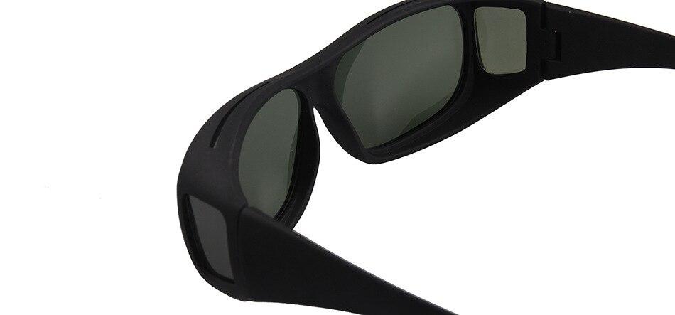 Polarised Over Prescription Glasses Sunglasses UV400 Wrap Around Driving Unisex