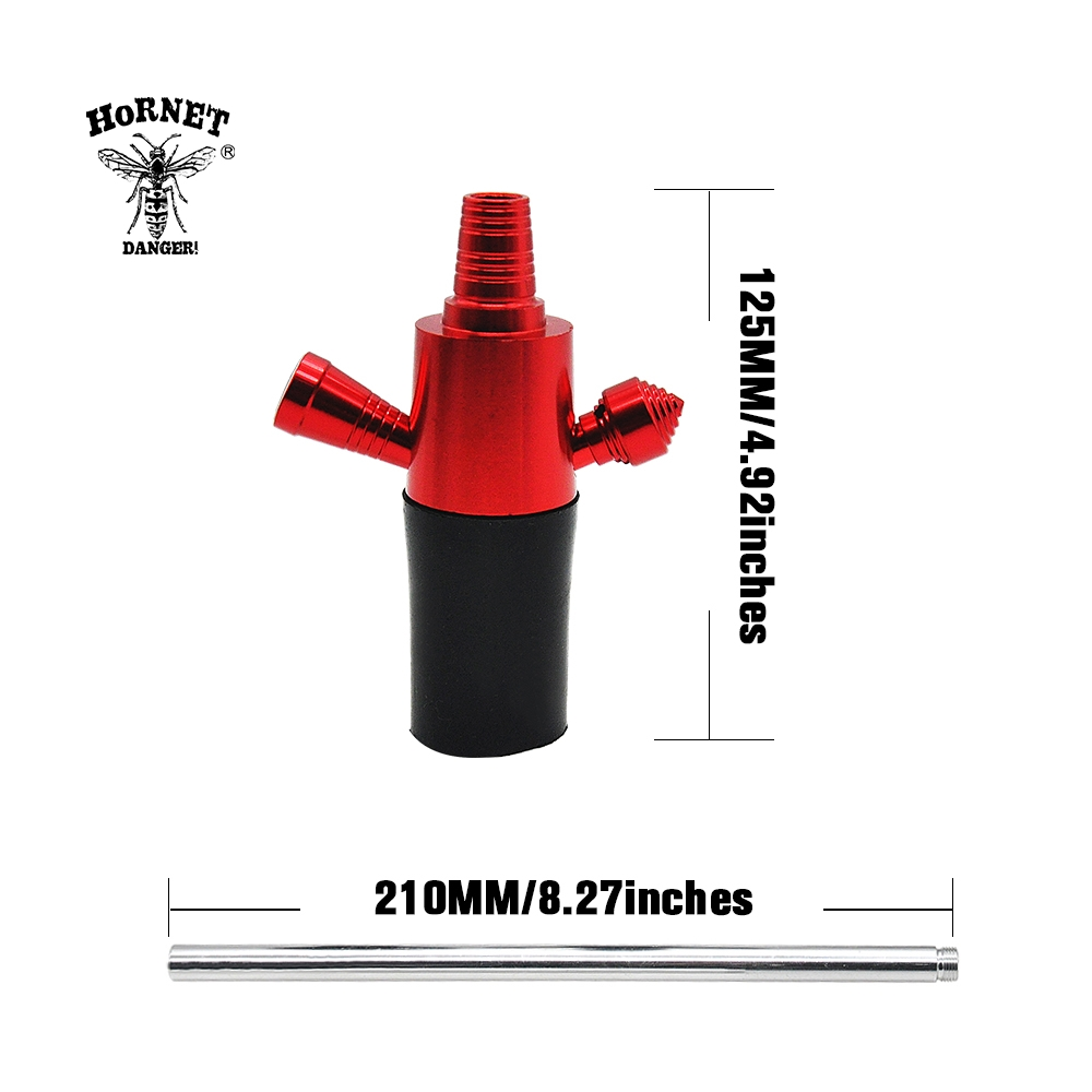 Image 2 - Aluminun Shisha Narguile Top Hookah Stem for Wine Bottle ChiCha Hookah Kit Adapter Suit For Most Of Bottle Shisha Accessories-in Shisha Pipes & Accessories from Home & Garden