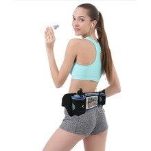 Hydration Running Bag Belt Fanny Pack for Marathon Waterproof Reflective Sports Waist Bag Fitness Marathon Cycling Travel