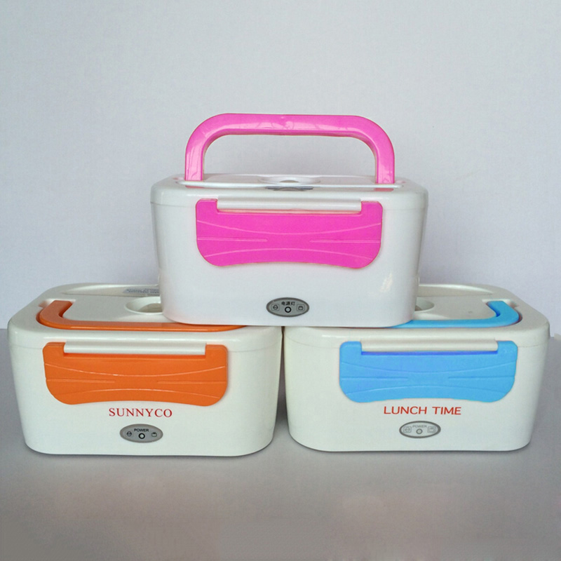 Bento Box Electrical Heating Food Box Portable Picnic Food Container with Plug for Travel Office Home