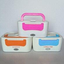 Bento Box Elektrische Heizung Lebensmittel Box Portable Picknick Lebensmittelbehälter mit Stecker für Reisen Office Home Geschirr Set Zufällig