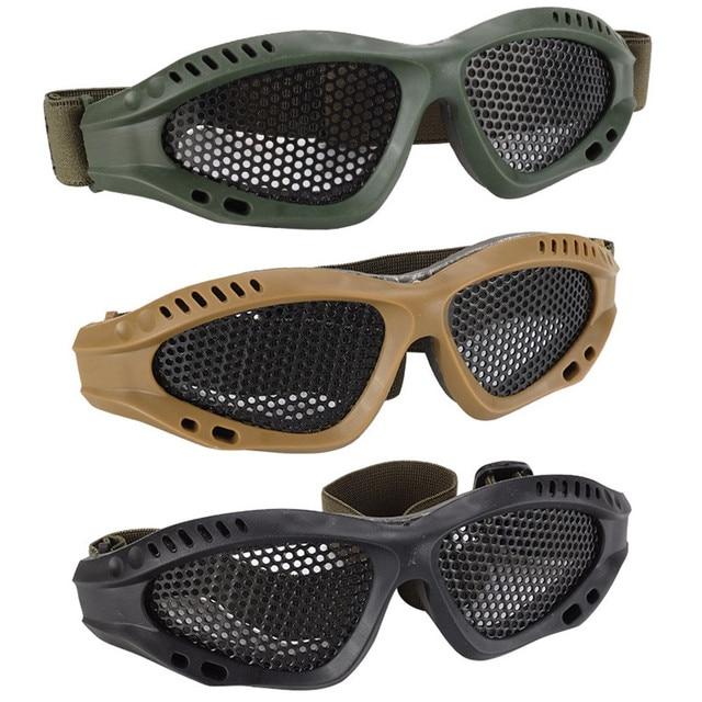 Gafas de seguridad gafas de protección exterior Anti-explosión para accesorios de pistola Nerf Armas pistola de aire suave AK 47 revólver
