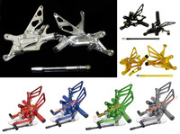 CNC Adjustable Rider Rear Sets Rearset Footrest Foot Rest Pegs For Yamaha YZF R1 2004 2005
