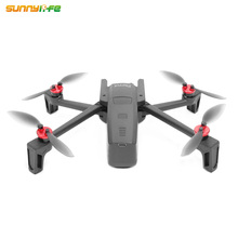 4pcs Sunnylife Aluminum Alloy Motor Covers Dustproof Waterproof Protection Cover for Parrot Anafi font b drone