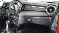 Автомобиль Интимные аксессуары Сухой углерода Волокно LHD внутренняя отделка комплект 13 шт. подходит для 2014 2016 Mini f55 F56 подкладке украшения Ст